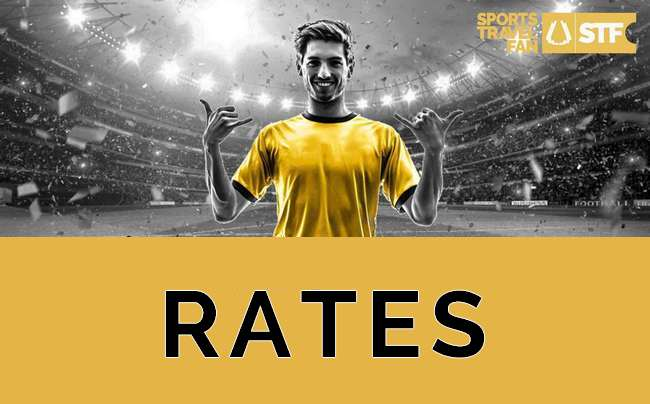 Rates - 2022 World Cup Packages